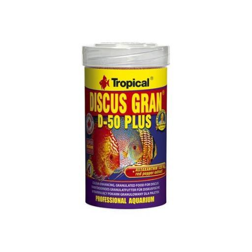 Alimento granulado para peces disco DISCUS GRAN D50 PLUS [0]
