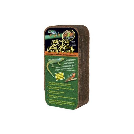 Sustrato de fibra de coco para reptiles ECO EARTH