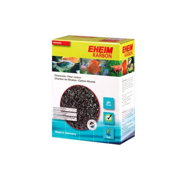 Carbón activo escamado para filtración química en acuarios EHEIM KARBON