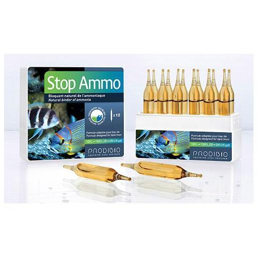 Suplemento para la eliminación de amoniaco en acuarios STOP AMMO de PRODIBIO