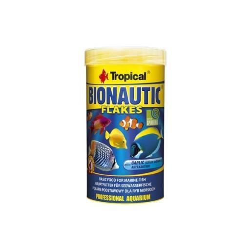 Alimento en escamas para peces marinos BIONAUTIC