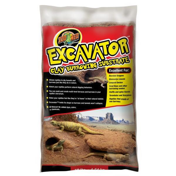 Sustrato ideal para animales que hacen sus propias madrigueras y refugios en la arena EXCAVATOR