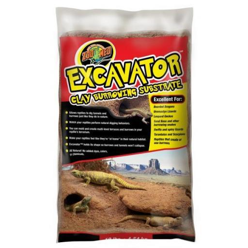 Sustrato ideal para animales que hacen sus propias madrigueras y refugios en la arena EXCAVATOR [0]