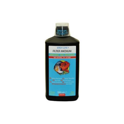 Acondicionador del agua de acuario que ayuda a mantener un agua cristalina de forma natural FILTER MEDIUM [0]