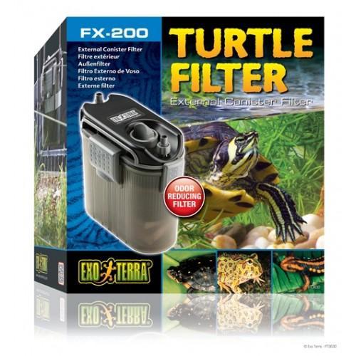 Filtro exterior para tortugueras FX