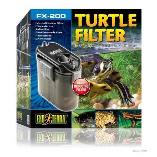 Filtro exterior para tortugueras FX [0]