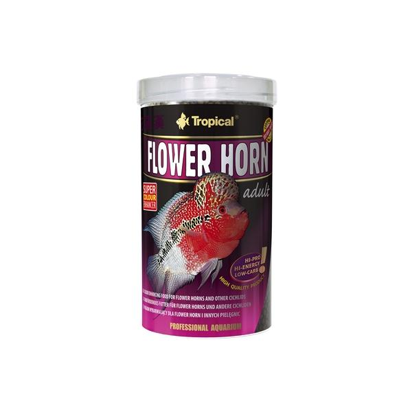 Alimento para Flower Horn adultos en pellets 500ml