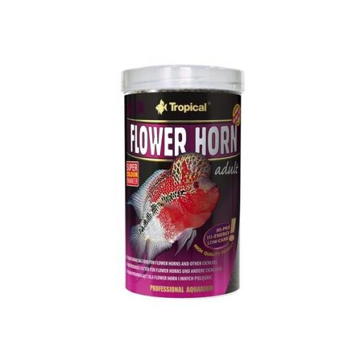 Alimento para Flower Horn adultos en pellets 500ml [0]