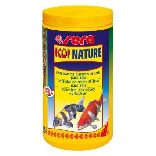 Snack para peces koi SERA KOI NATURE 1 litro