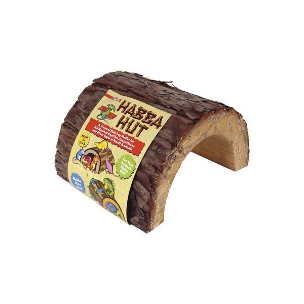 Cueva de madera para terrarios HABBA HUT