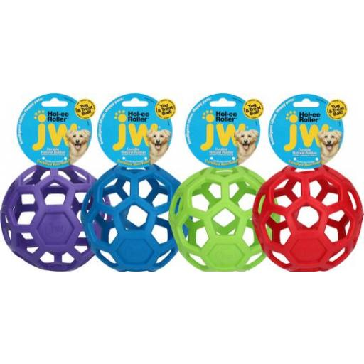 Pelota combinable con juguetes y snacks grandes HOL-EE ROLLER