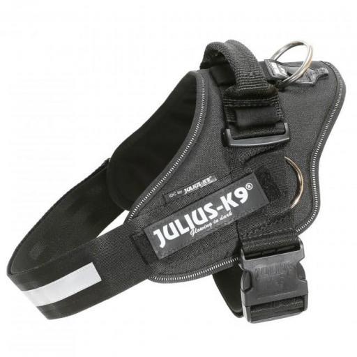 Arnes con anillas laterales para tirar JULIUS K9 en color negro [0]