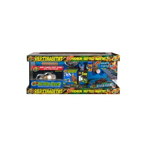 Terrario completo para tortugas de agua