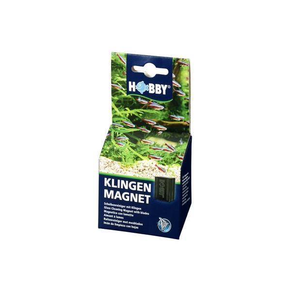 Imán con láminas de acero para la limpieza de los cristales de acuario KLINGEN MAGNET