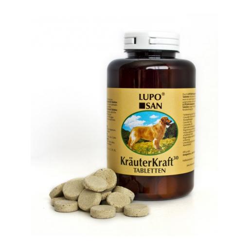Suplemento alimenticio para mejorar la asimilación de los alimentos en perros KRAUTERKRAFT