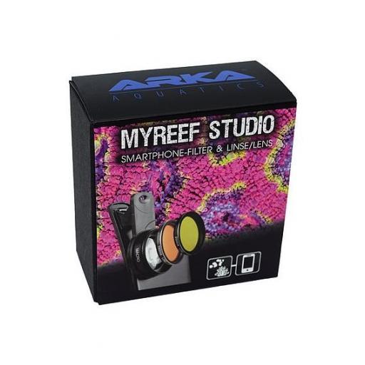 Accesorio para unas mejores fotografías con el móvil de acuarios de arrecife ARKA myREEF STUDIO