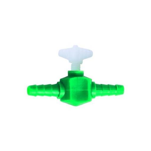 Llave plástica para tubos de suministro de aire 4/6