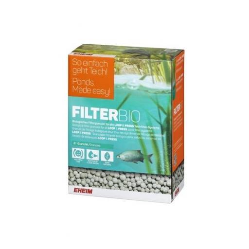Masa filtrante biológica para filtros de estanque FILTERBIO de EHEIM 2 litros