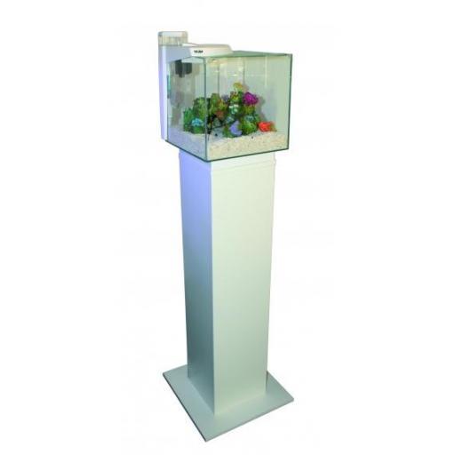 Mesa para acuarios 30x30cms en color blanco