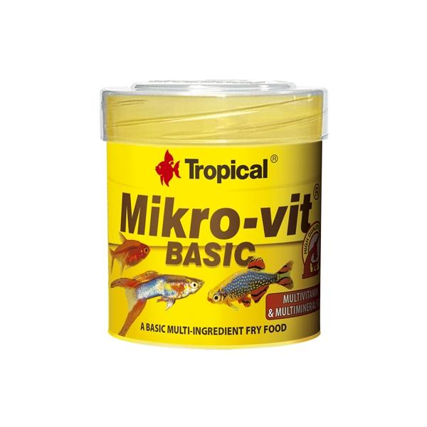 Alimento básico para alevines MIKROVIT 50ml