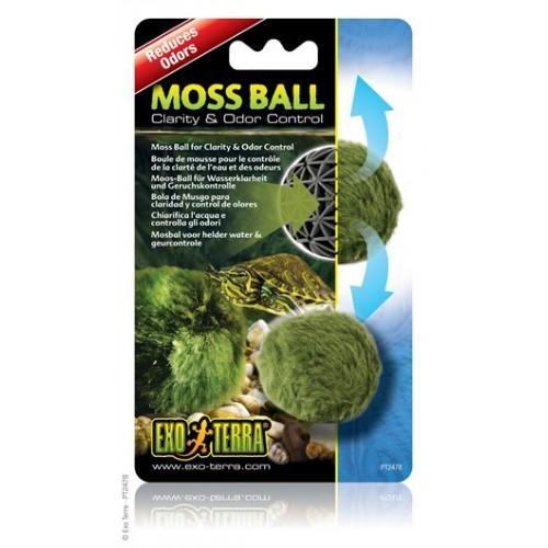 Bola de musgo para mantener un agua cristalina y reducir el olor MOSS BALL