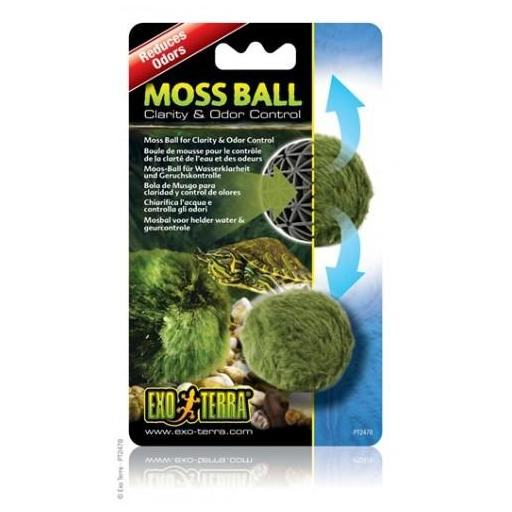 Bola de musgo para mantener un agua cristalina y reducir el olor MOSS BALL [0]