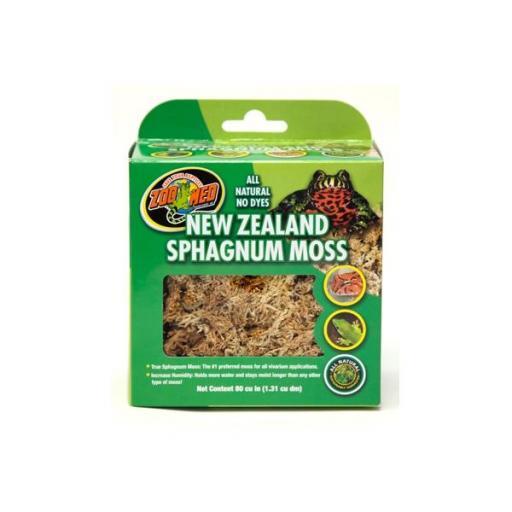 Musgo para vivarios NEW ZEALAND SPHAGNUM MOSS 1,31 litros