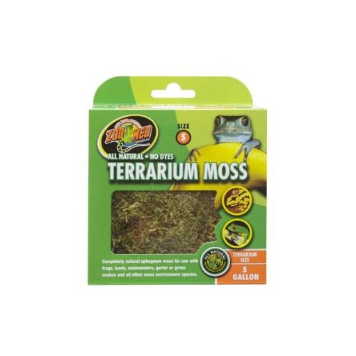 Musgo natural para terrarios TERRARIUM MOSS