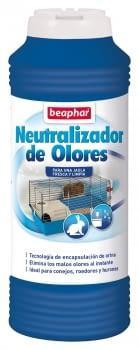 Neutralizador de olores para jaulas de roedores BEAPHAR 600gr