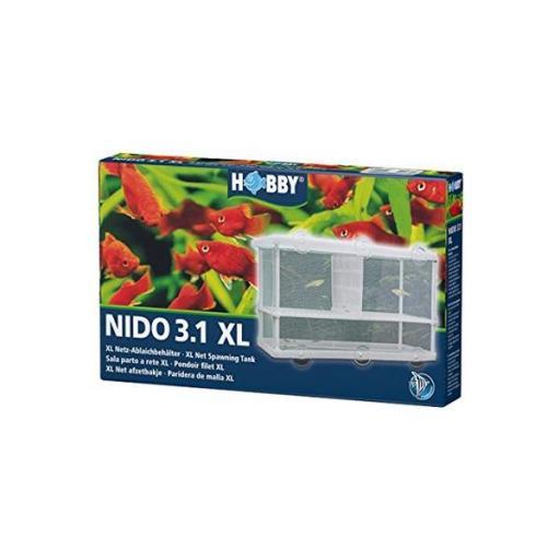 Paridera de malla para peces de tamaño grande NIDO 3.1XL [0]