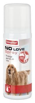 Spray para disimular el olor sexual de las perras en celo NO LOVE 50ml