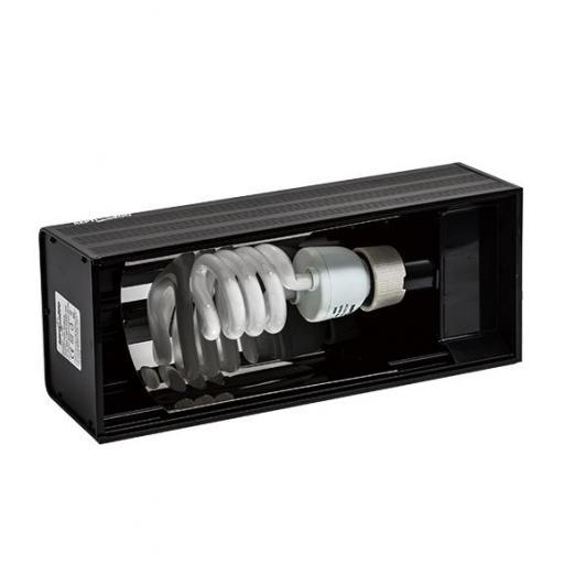 Pantalla de aluminio para bombillas compactas REPTIZOO