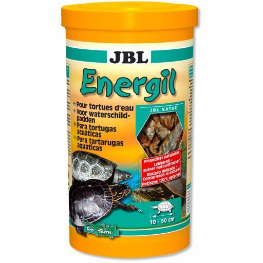 Alimento para tortugas de agua a base de pescados y cangrejos JBL ENERGIL