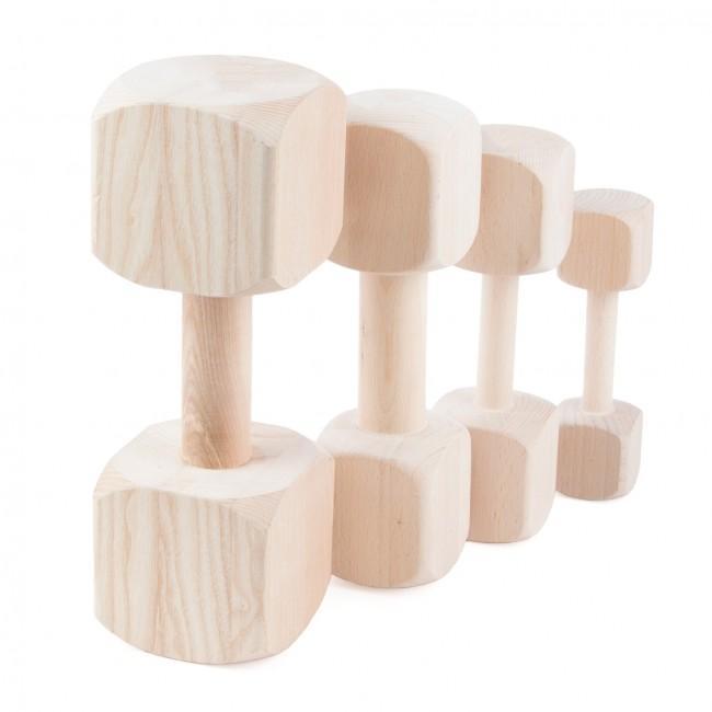 Pesas de madera para adiestramiento JULIUS