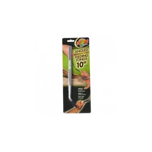 Pinza en angulo para la alimentación de reptiles ZOOMED