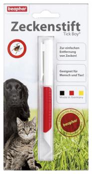 Pinzas quitagarrapatas para perros y gatos