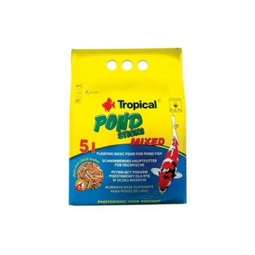 Alimento en sticks para peces de estanque POND STICKS MIXED 50 litros [0]