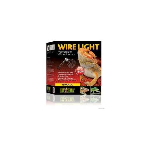 Portalámparas de rejilla para bombillas cerámicas WIRE LIGHT