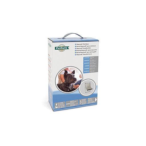Puerta de aluminio para perros pequeños y medianos STAYWELL