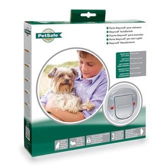 Puerta especial para cristal ideal para perros y gatos de hasta 10kg