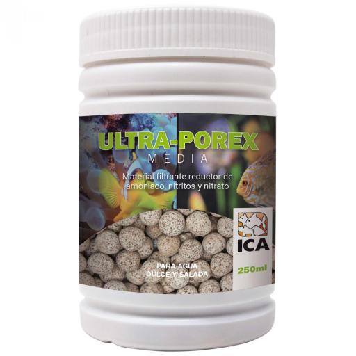 Material filtrante para la eliminación de productos nitrogenados en el acuario ULTRA-POREX