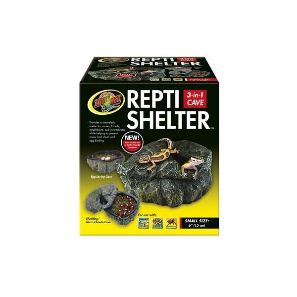 Cueva para reptiles REPTI SHELTER