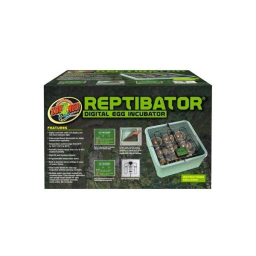 Incubadora digital para reptiles REPTIBATOR