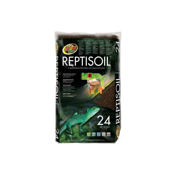 Sustrato para terrarios tropicales y paludarios REPTISOIL 23 litros