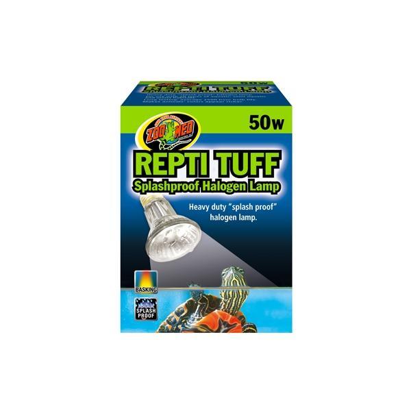 Lámpara halogena emisora de calor y resistente a las salpicaduras TURTLE TUFF
