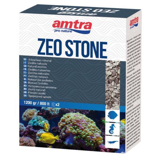 Resina sintetica para la reducción de nitrato en acuarios de agua dulce ZEOSTONE de AMTRA 1200gr