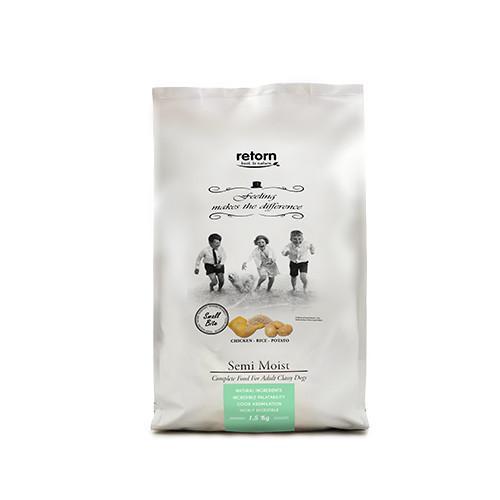 Alimento semihúmedo para perro a base de pollo RETORN FEELING