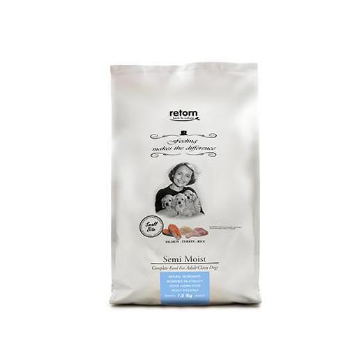Alimento para perro semihúmedo a base de salmón RETORN FEELLING