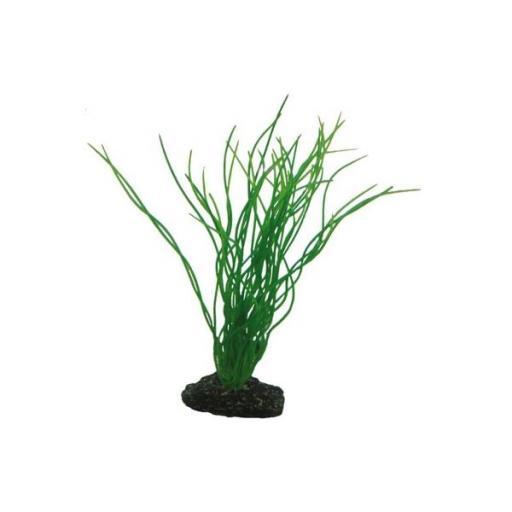 Planta plástica para acuario SAGITTARIA 20cms