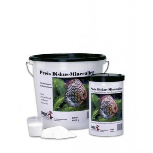 Sal para enriquecer el agua de osmosis ideal para acuarios con discos PREIS